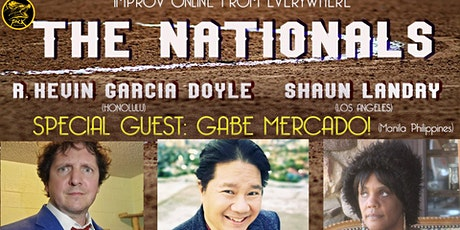 The Nationals Improv Comedy with Gabe Mercado tickets
