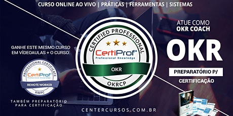 Curso de OKR online ao vivo (para a certificação CertiProf® ) tickets