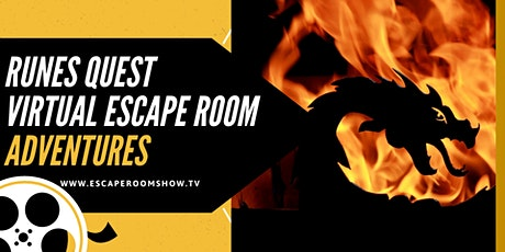 Runes Quest Virtual Escape Room  Adventure PRIVATE tickets