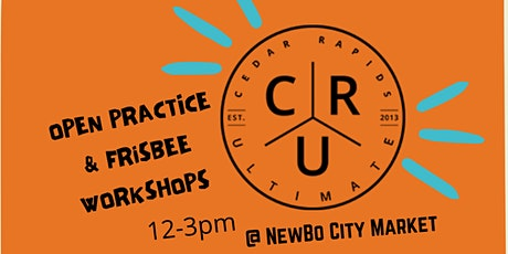 Open Practice & Frisbee Workshops with CR Ultimate tickets