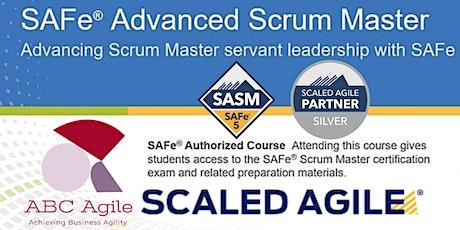 SAFe Advanced Scrum Master (5.0) tickets
