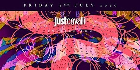 Just Cavalli Milano Venerdì 10 Luglio 2020 X info 392-9848838 biglietti