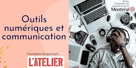 Outils numérique et communication billets