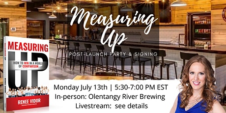 'Measuring Up' Post-Launch Party! tickets