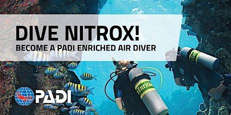 PADI Nitrox course tickets