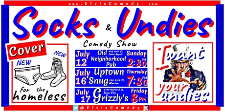 The Socks and Undies Comedy Show tickets