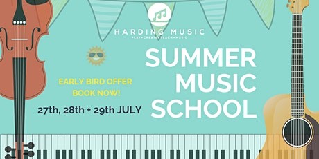 Harding Music Summer Music School 2020 [Week 1: 27/28/29 July] tickets