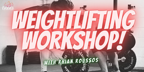 Clean & jerk workshop with Rhian Roussos tickets
