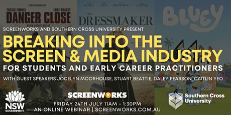 Breaking into the  Screen & Media Industry tickets