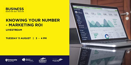Business Workshop: Knowing your number - Marketing ROI tickets