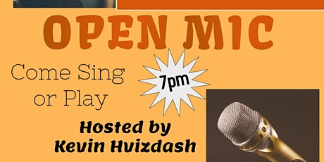 Open Mic at Tucked Away Brewing-August tickets