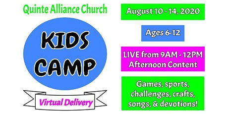 Virtual Kids Camp 2020 tickets