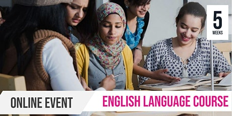 Online | English as a Second Language | 5 Week Course tickets