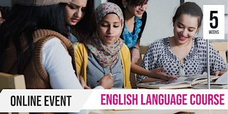 NEW TIME | Online | English as a Second Language | 5 Week Course tickets