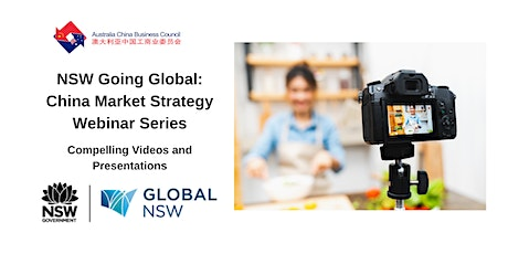 NSW Going Global - Virtual Showcasing for the China Market tickets