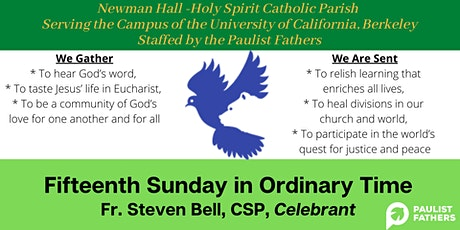 10:00am Mass for Sunday of the 15th Week of Ordinary Time tickets