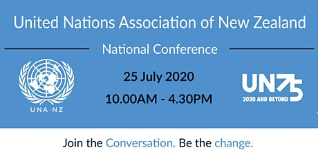 United Nations Association of New Zealand  National Conference 2020 tickets