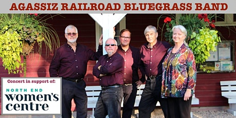 Agassiz Railroad Bluegrass Fundraiser and BBQ tickets