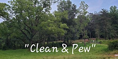 August 2020 Range CLEAN & PEW tickets
