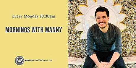 Mornings with Manny   Virtual Learning every Monday tickets