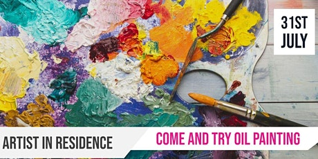 Glandore | Artist in Residence | Come and try Oil Painting tickets