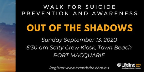 Out of the Shadows Walk for Suicide - Bereavement Walk tickets