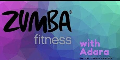 Virtual Zumba with Adara tickets