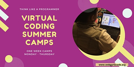 Virtual Coding Camps (July 2020) tickets