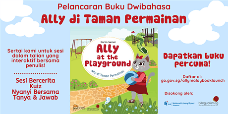 Ally at the Playground | Malay Book Launch tickets