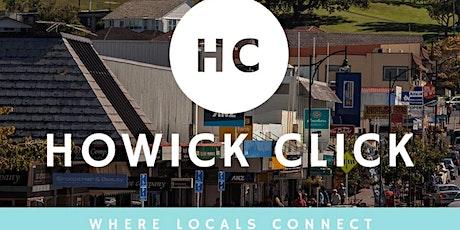 Howick Click - Branding your biz tickets