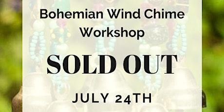Bohemian Wind Chime Workshop tickets