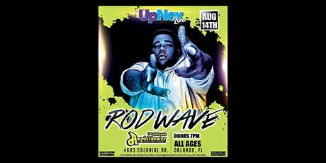 UpNex Live Presents Rod Wave tickets