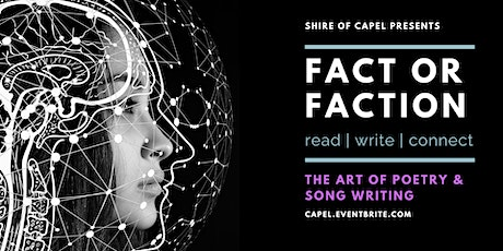 The Art of Poetry and Song Writing | Fact or Faction tickets