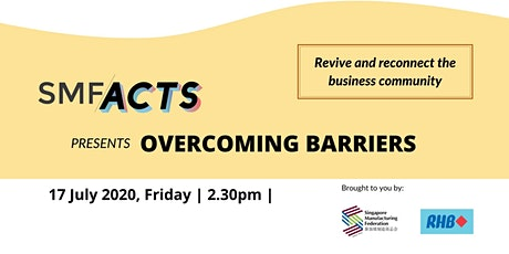 SMF ACTS - OVERCOMING BARRIERS tickets
