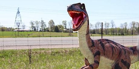 Dinosaur Drive-Thru:  Friday July 17th - COVID 19 Safe tickets