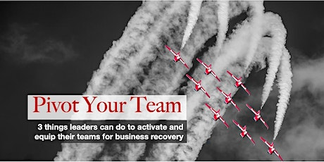 Pivot Your Team: Accelerate Business Recovery with An Aligned & Armed Team tickets