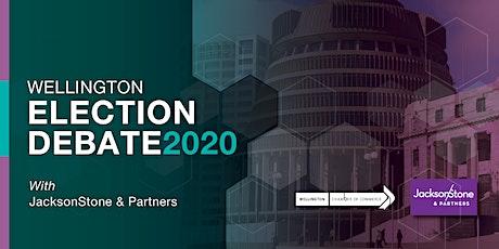 Wellington Election Debate 2020 tickets