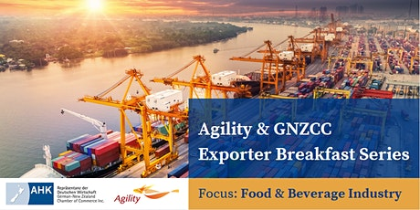 Agility & GNZCC Exporter Breakfast Series | No 1 tickets