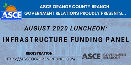 ASCE OC Government Relations - Panel on Funding During COVID-19 tickets