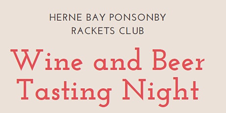Wine and Beer Tasting Night tickets