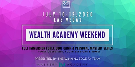 Wealth Academy Weekend Las Vegas 2020 tickets