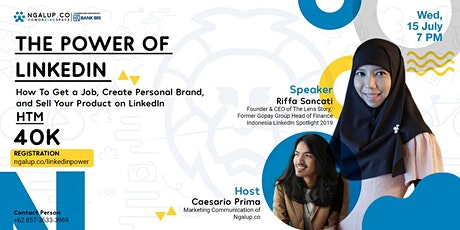 [PAID EVENT] The Power Of Linkedin tickets