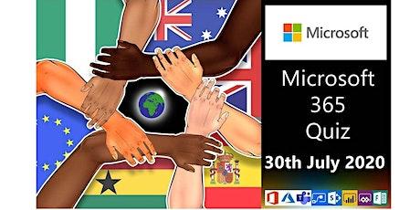 ANZ Global Microsoft 365 Charity Quiz - ANZ Team tickets