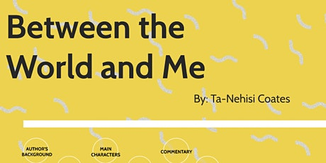 You Belong Here Book Club: Between the World and Me by Ta-Nehisi Coates tickets