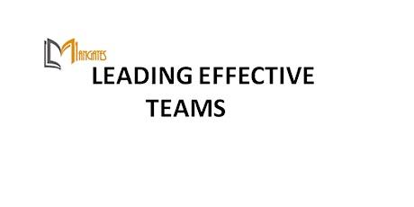 Leading Effective Teams 1 Day Training in Phoenix, AZ tickets
