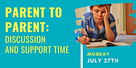 Parent to Parent: Discussion and Support Time tickets