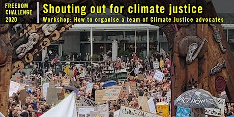 Freedom Challenge Workshop: Organising a team of climate justice advocates tickets