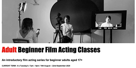 Adult Film Acting Classes Perth tickets