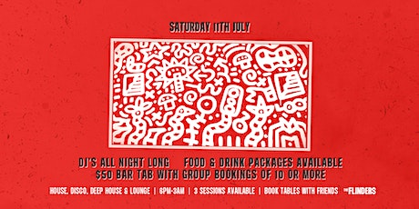 Sat 11th July | The Flinders tickets