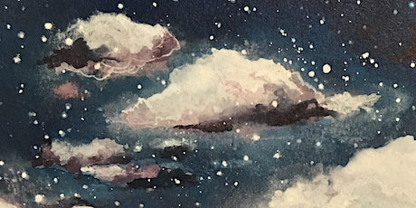 Online Painting Clouds & Stars Workshop tickets